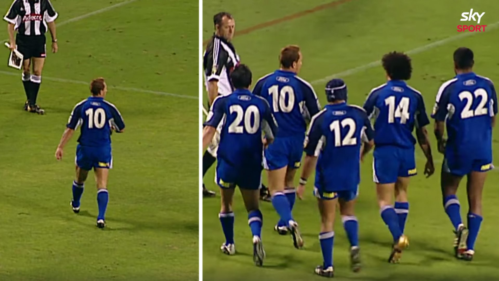 Super Rugby have just released the game when Carlos Spencer utterly humiliated the Crusaders