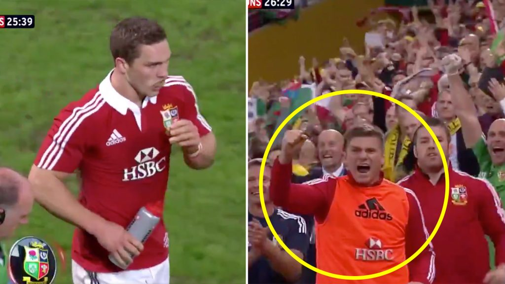 The Lions release full HD footage of one of the most outrageous moments in their history