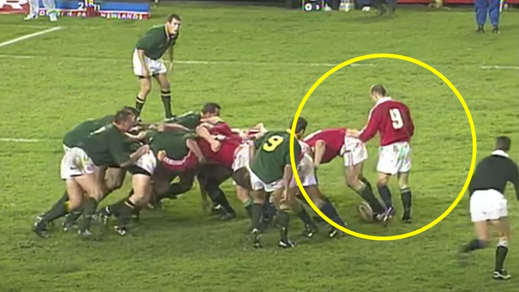 Footage is released showing the time when Matt Dawson humiliated the Springboks with one pass