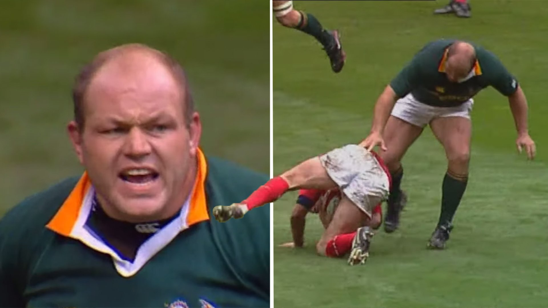 New video tells the unbelievable comeback story of the best Prop in rugby history