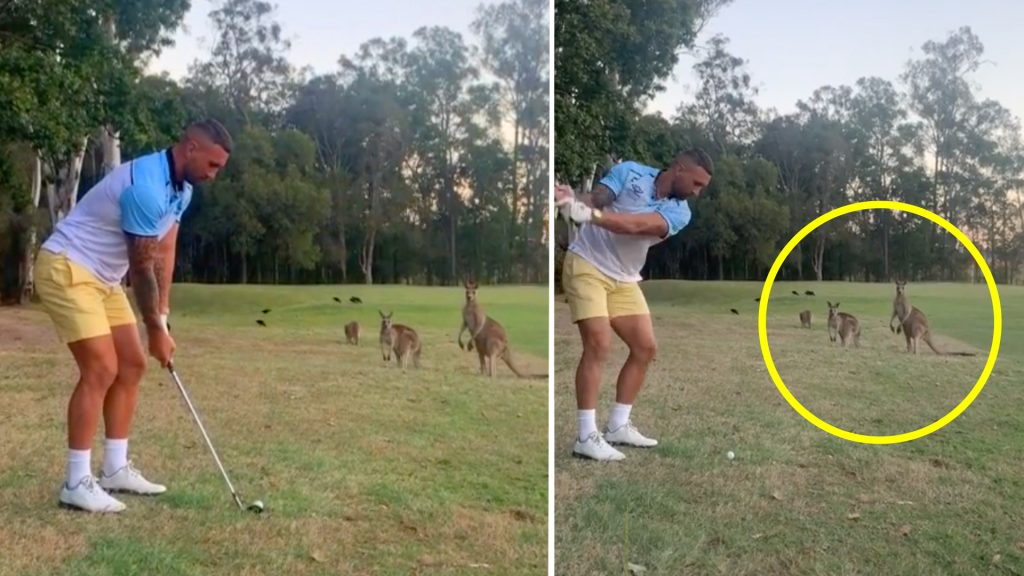 Quade Cooper experiences shock backlash from viral video of him playing golf