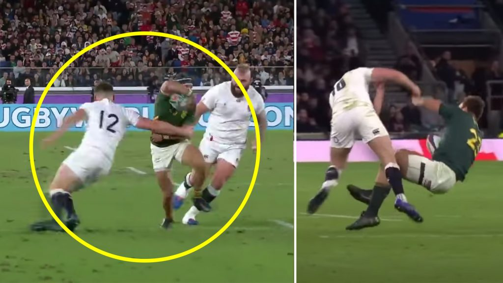 Someone has finally made a compilation of all Owen Farrell's defence and it's so bad