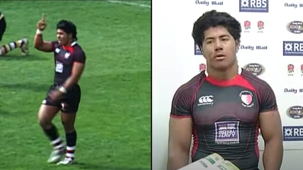 Someone has found Manu Tuilagi's schoolboy rugby highlights and it's tearing the Internet apart