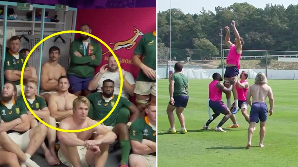 Rassie Erasmus releases incredible unseen footage of Springboks during World Cup campaign