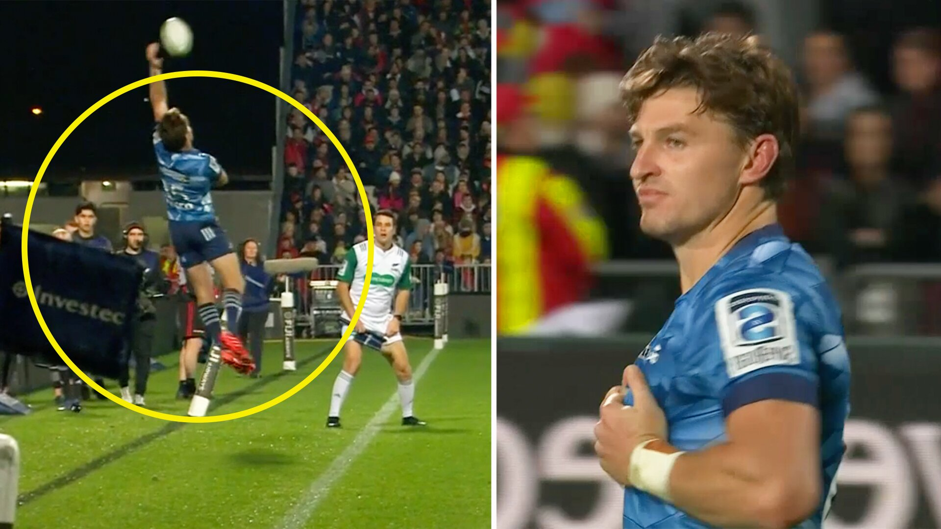 Beauden Barrett defies physics in thrilling Super Rugby showdown