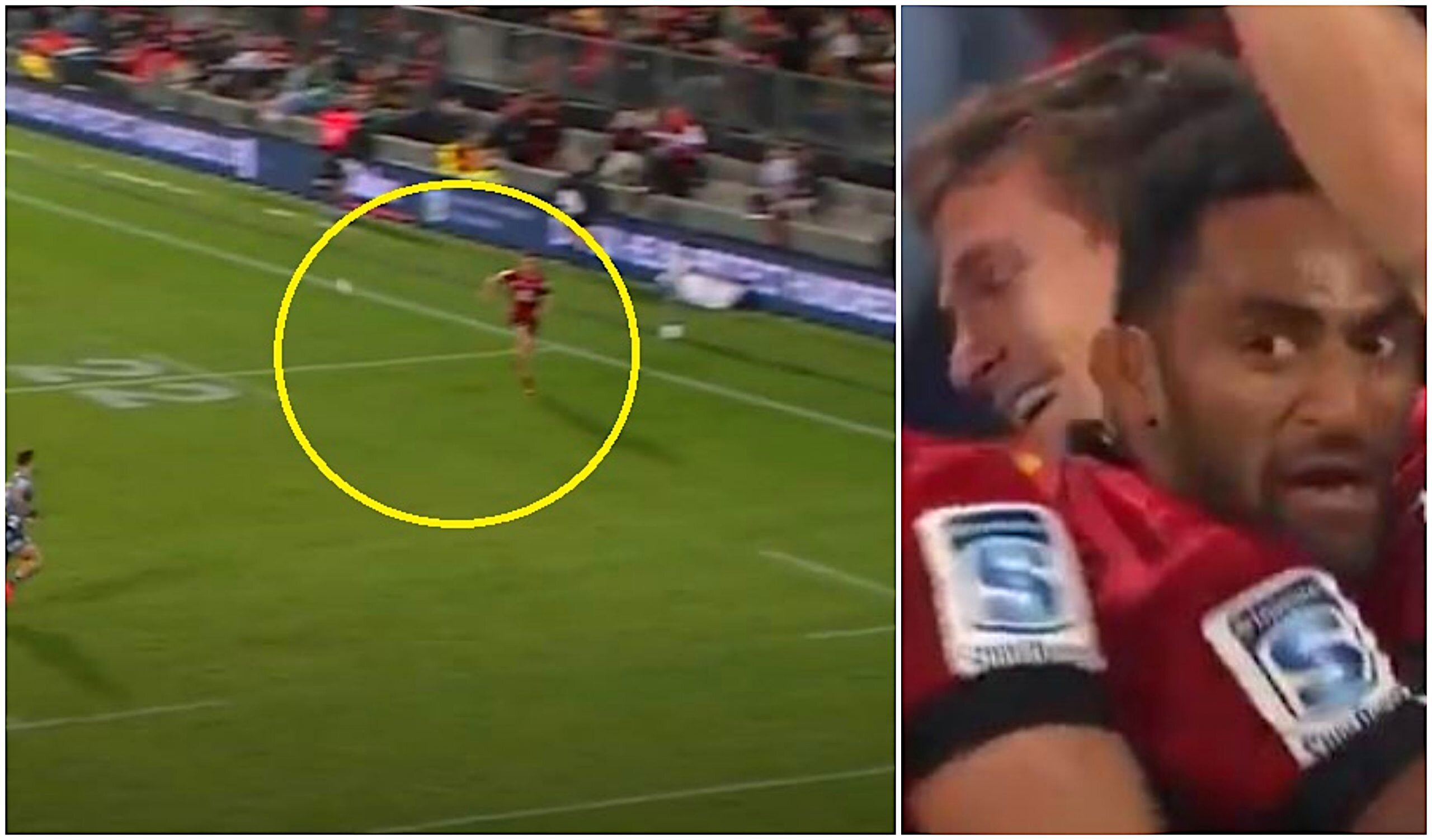 All Black's so-called 'sensational' try was actually a fluke or something