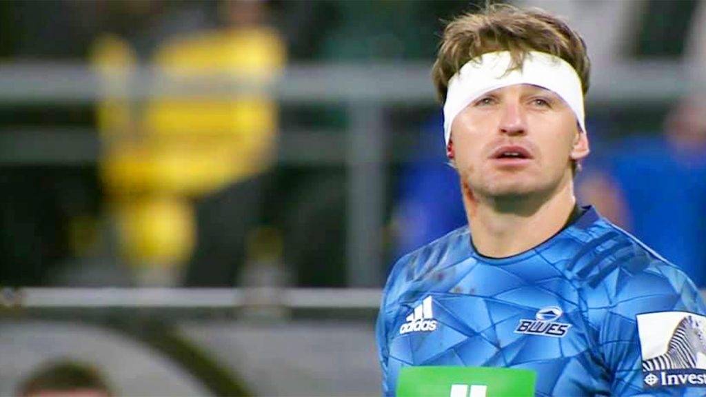 The moment Beauden Barrett realised that the whole stadium of his former team were booing him
