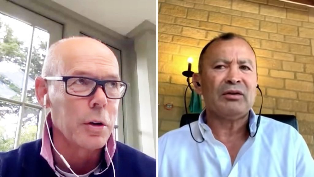 Clive Woodward and Eddie Jones go at it in argument over England's Rugby World Cup performance