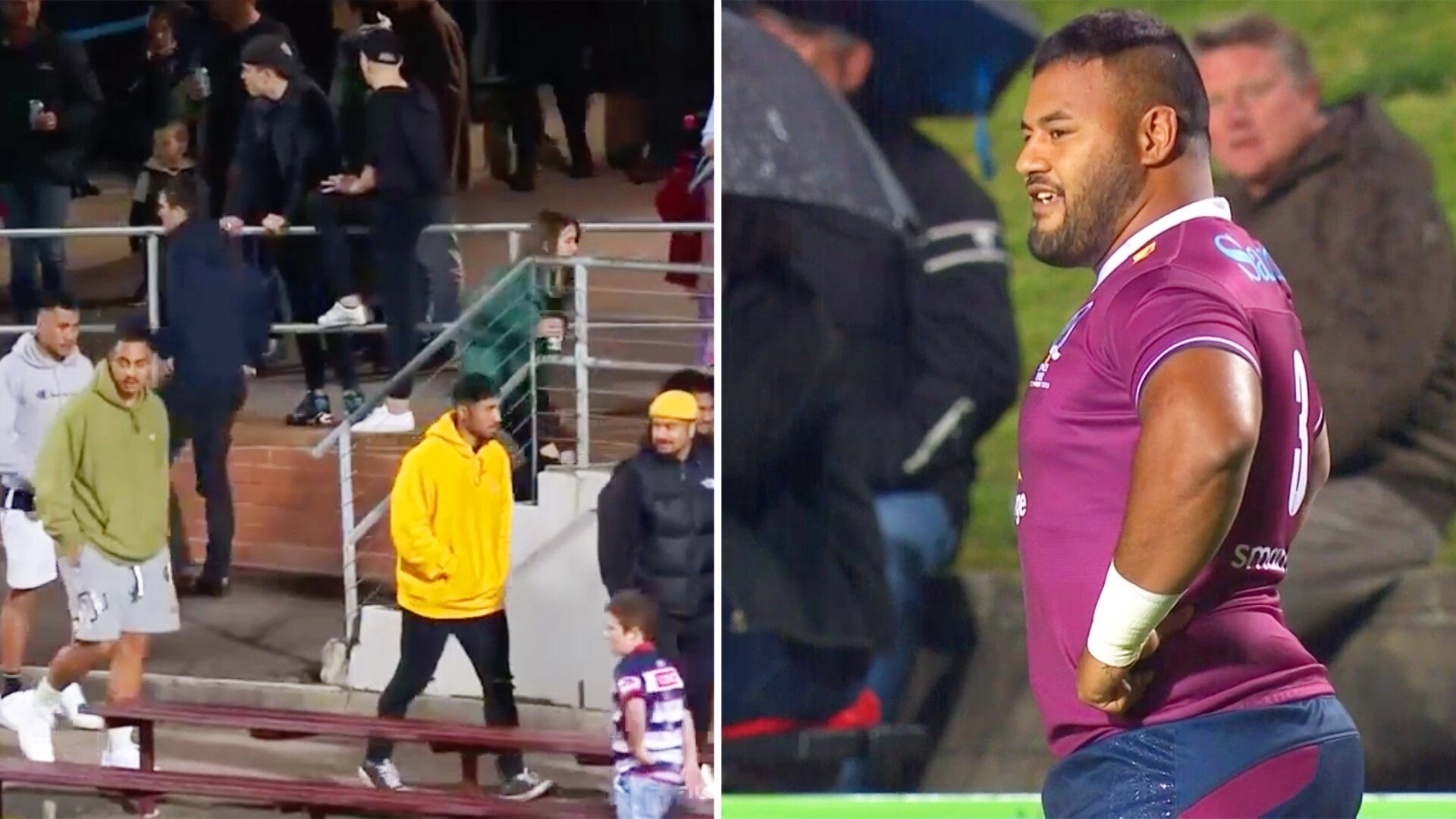 Stadium DJ's attempt to liven up Super Rugby crowd makes things even more awkward