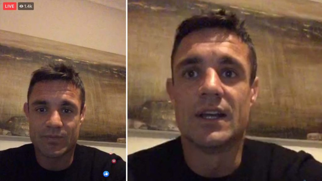 Dan Carter live stream goes off the rails as hundreds of trolls descend on the video