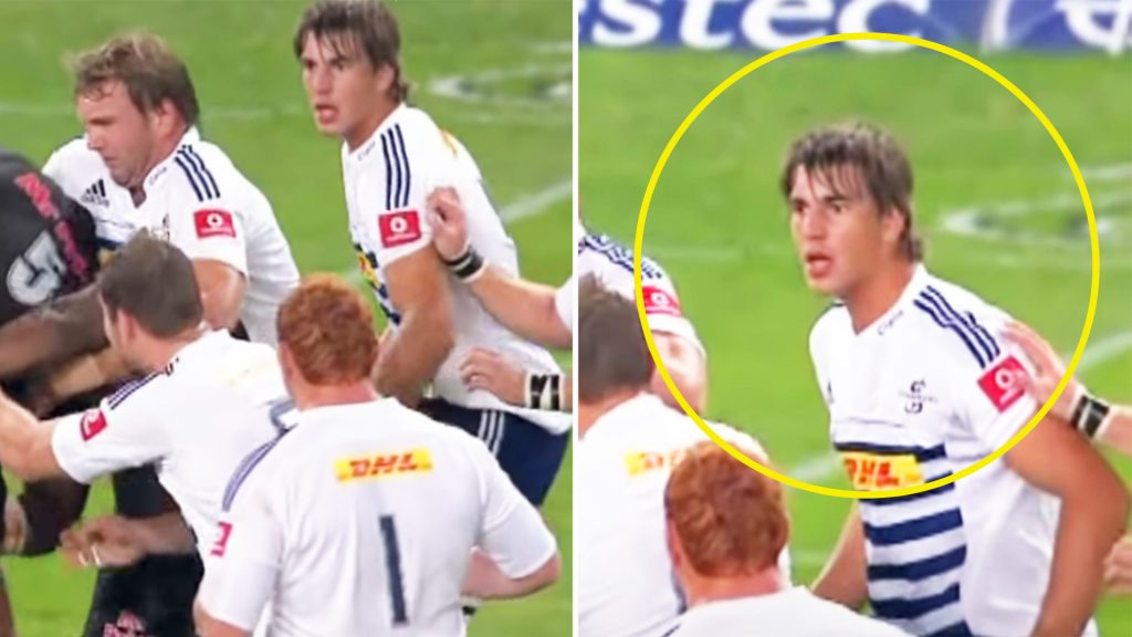 The shocking Super Rugby moment that stunned a young Eben Etzebeth