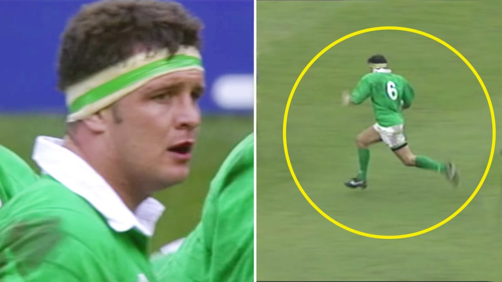 We can't believe how fast this Irish forward was