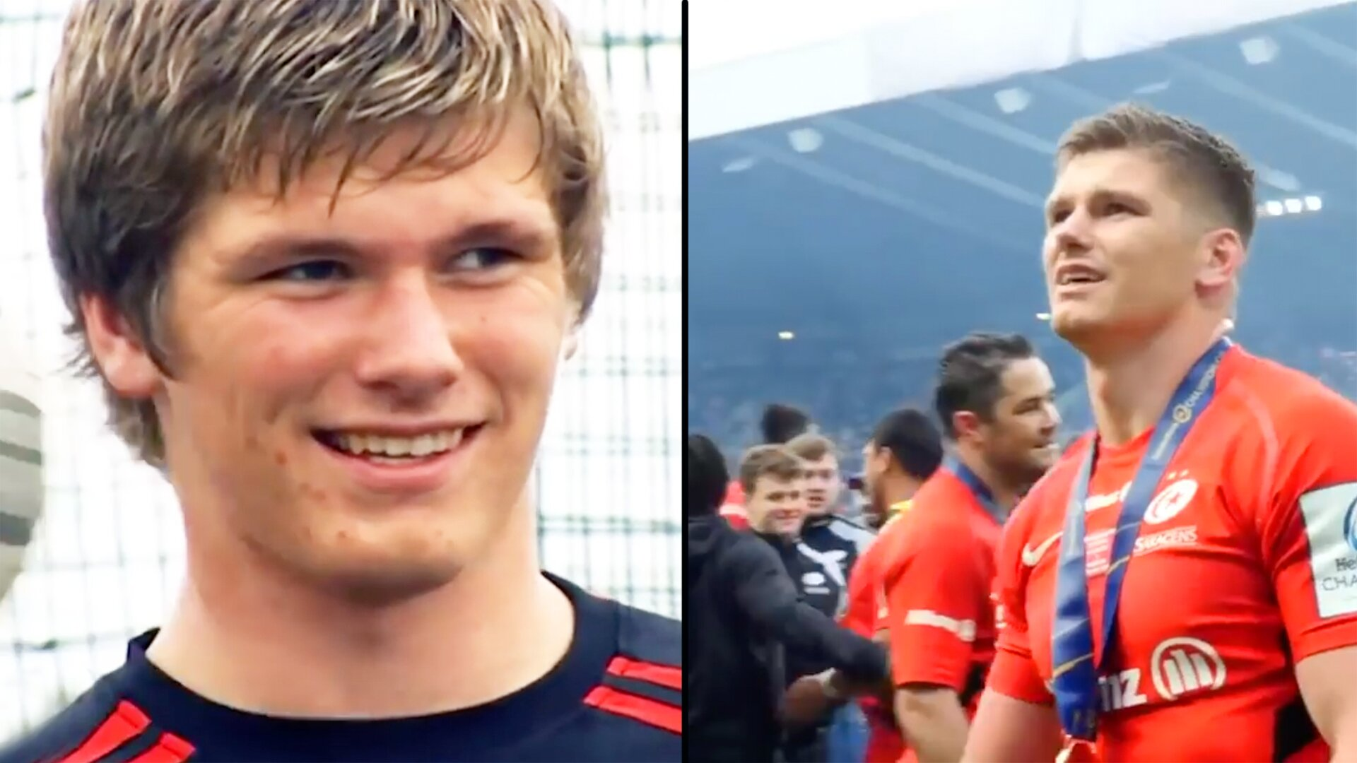 Saracens post emotional new video that makes clear exactly why Owen Farrell is staying at the club