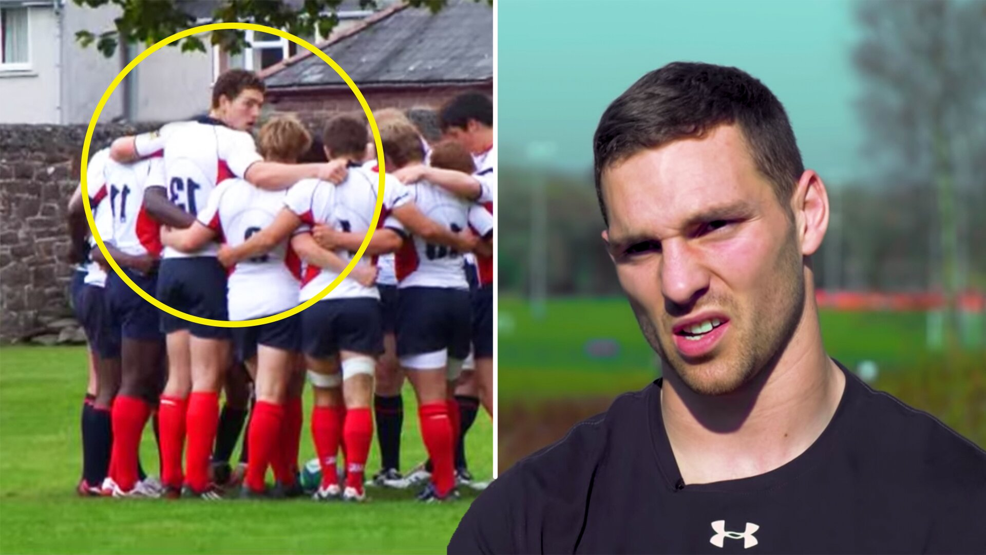 George North should never have been allowed to play schoolboy rugby