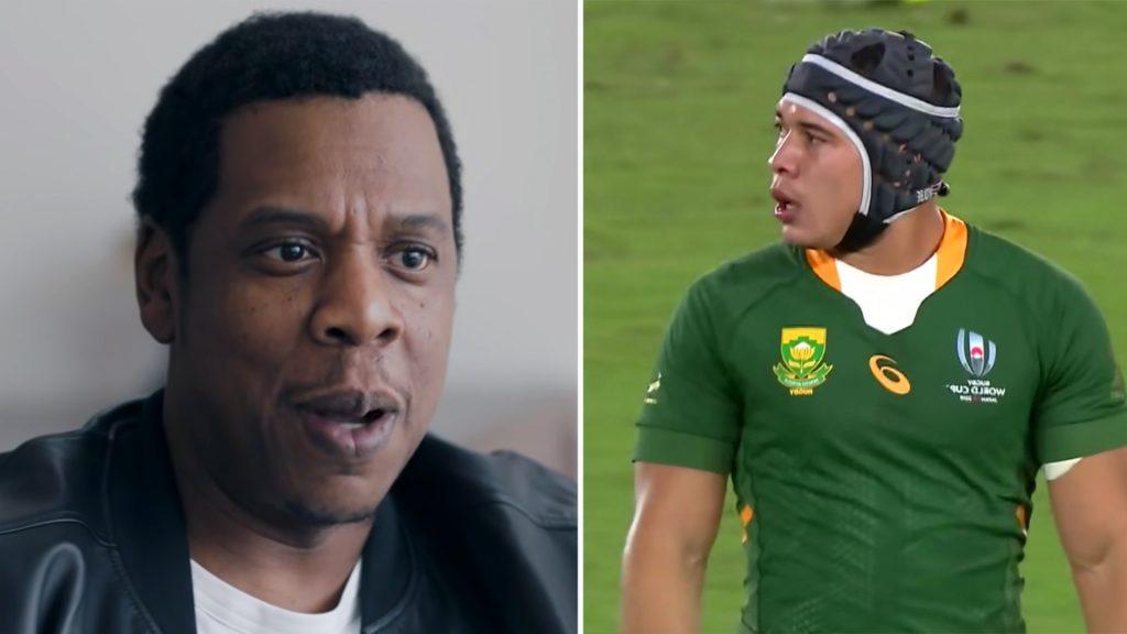 Jay Z makes his move on Cheslin Kolbe