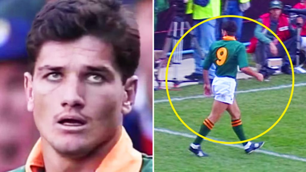 If you didn't know how good Joost van der Westhuizen really was - watch this