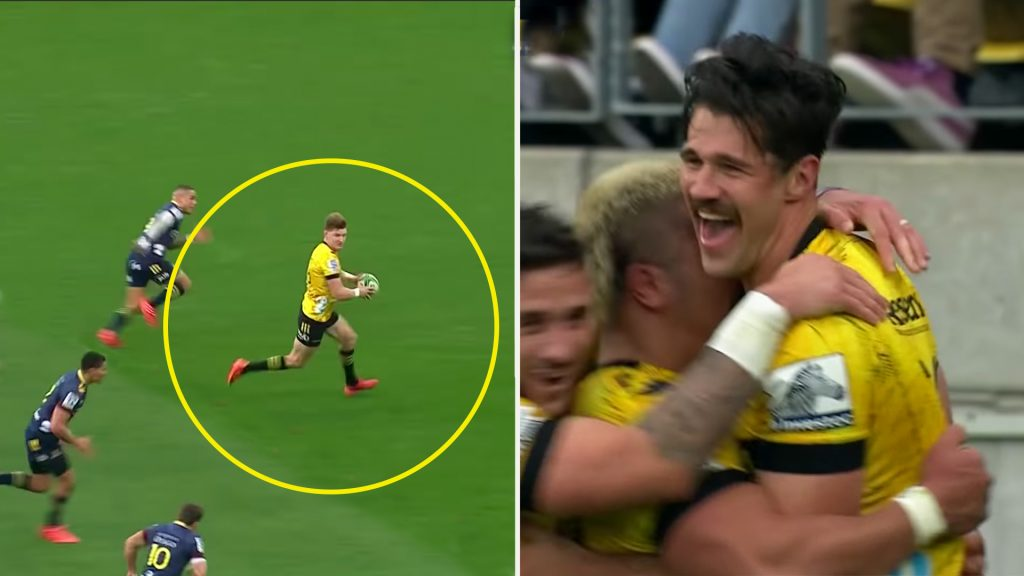 The Jordie Barrett moment that is sending the internet into overdrive
