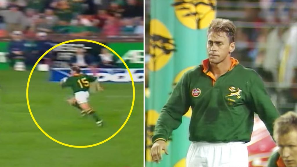 Is André Joubert the most underrated fullback of all time?