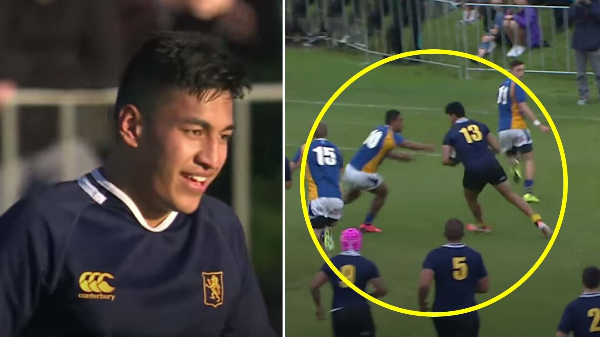 Someone has just released Rieko Ioane's stunning highlight reel from when he was a schoolboy