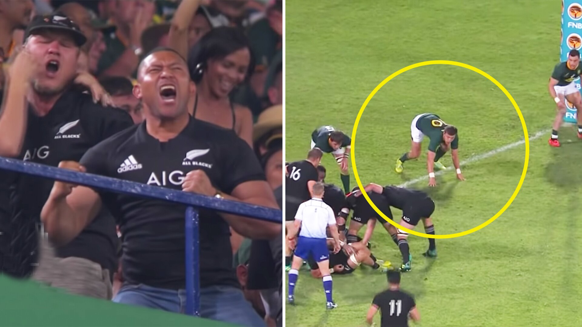 Relive the most intense ten minutes in Rugby Championship history