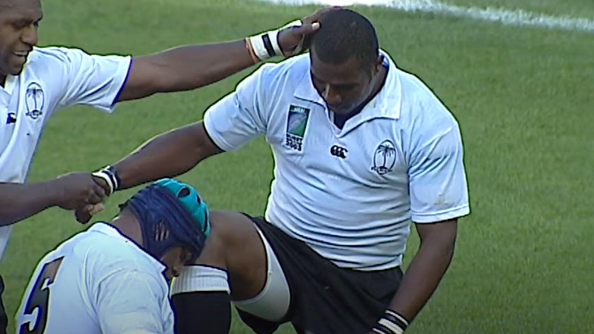 The Reason why Rupeni Caucaunibuca had a 99 speed rating in Rugby 06