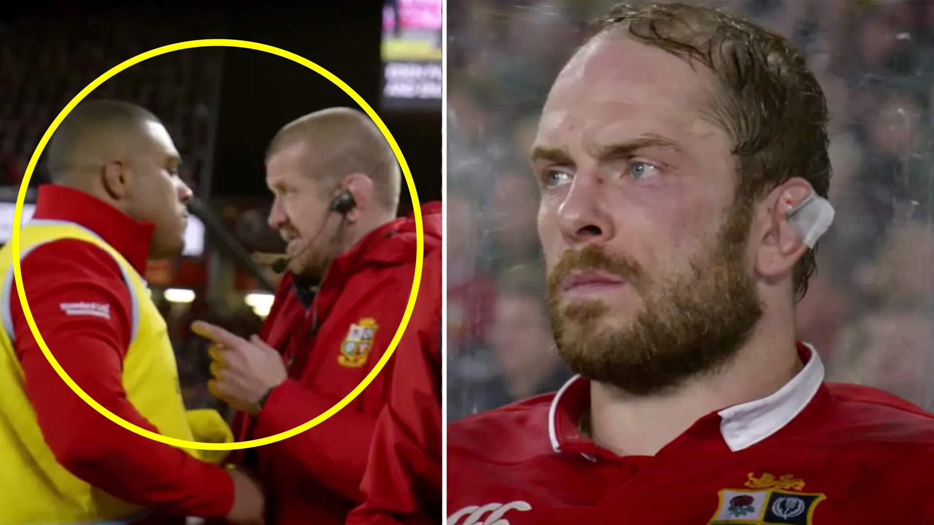 The Lions have just released an incredibly revealing clip showing what Kyle Sinckler was like during the 2017 Lions Tour