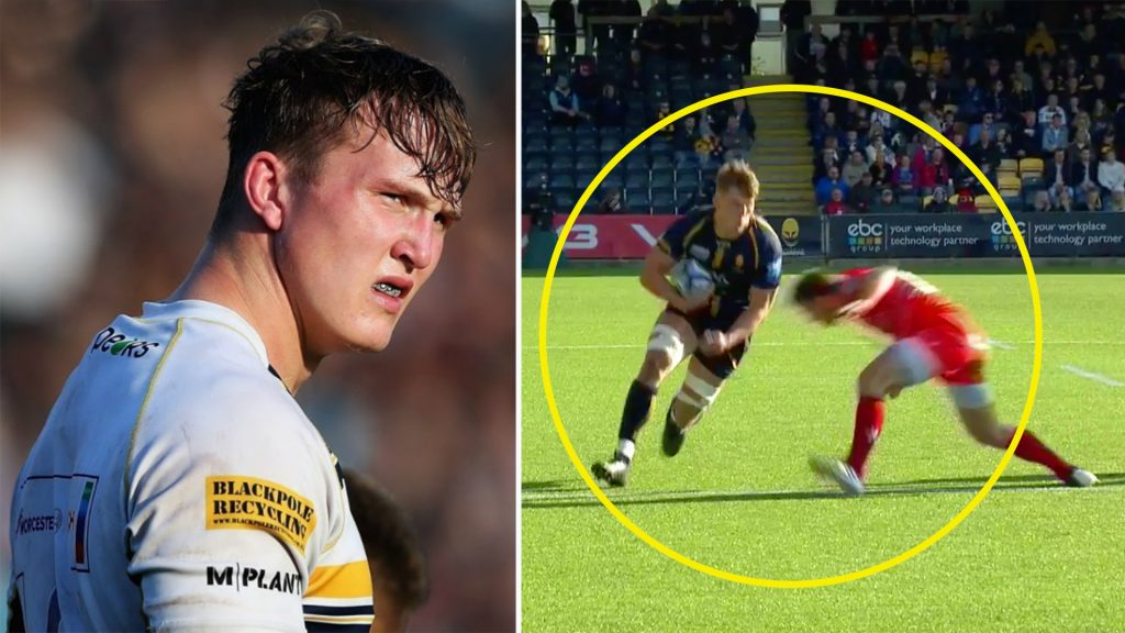If you've not got the hype around new Worcester captain Ted Hill - watch this