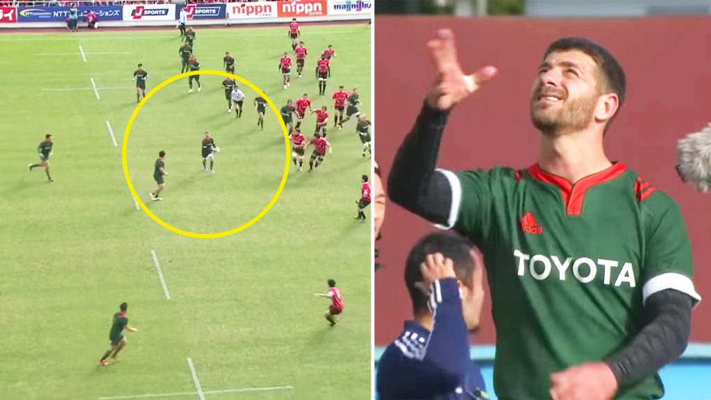 Willie Le Roux is too good for the Japan Top League