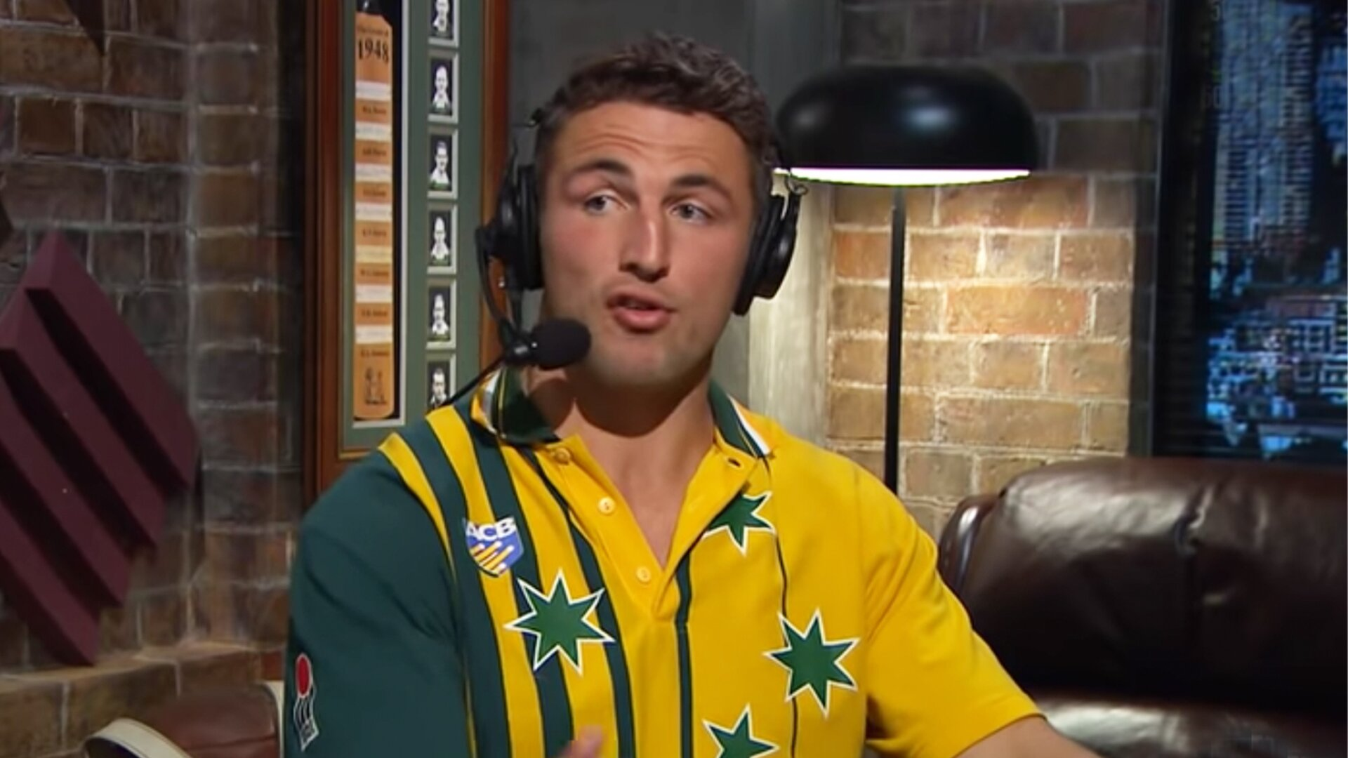 Everyone is perplexed by Sam Burgess and his bizarre new accent