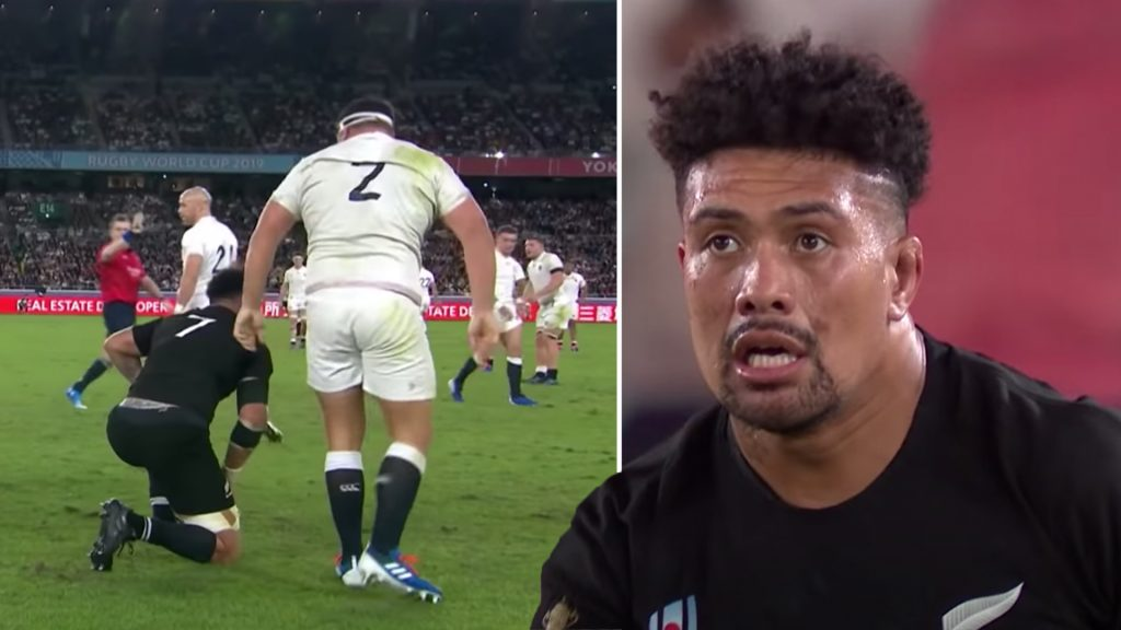 Rugby fans are suddenly talking about the weird thing that Ardie Savea did to Jamie George at the World Cup