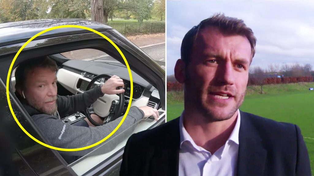 Former England rugby star Mark Cueto wages war on cyclists after stunning video drops online