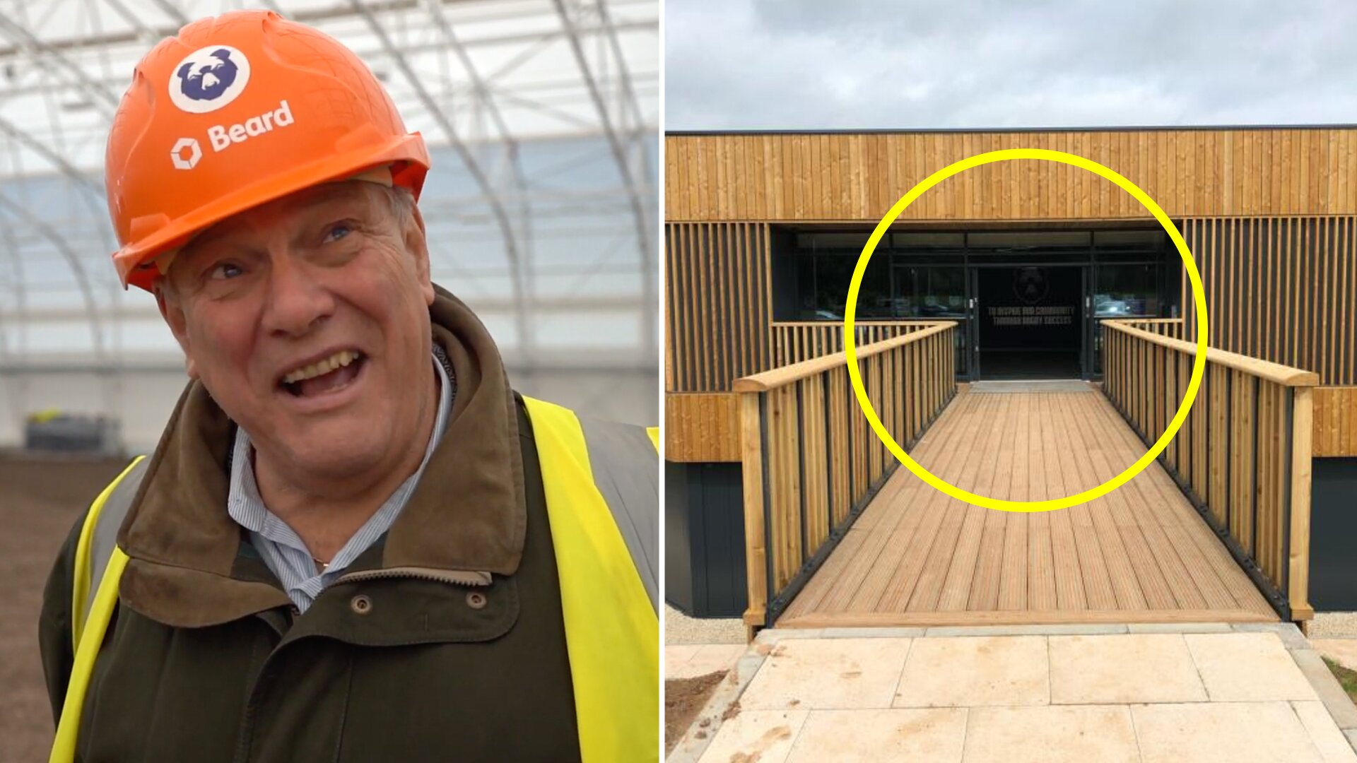 Rugby fans are losing their minds as Bristol Bears' ridiculous new training ground is leaked