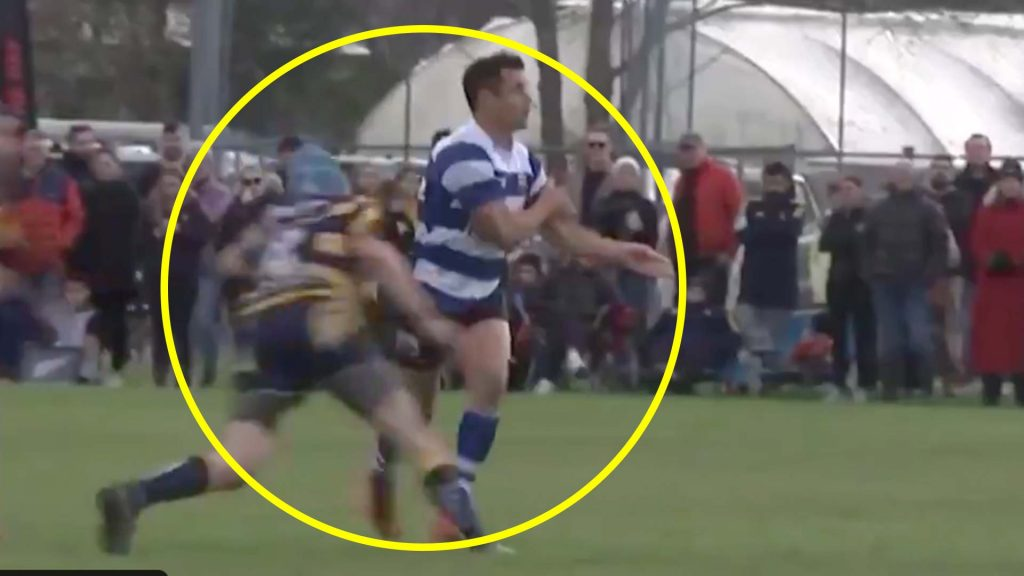 Dan Carter receives sickening hit on his return to a club rugby match this weekend