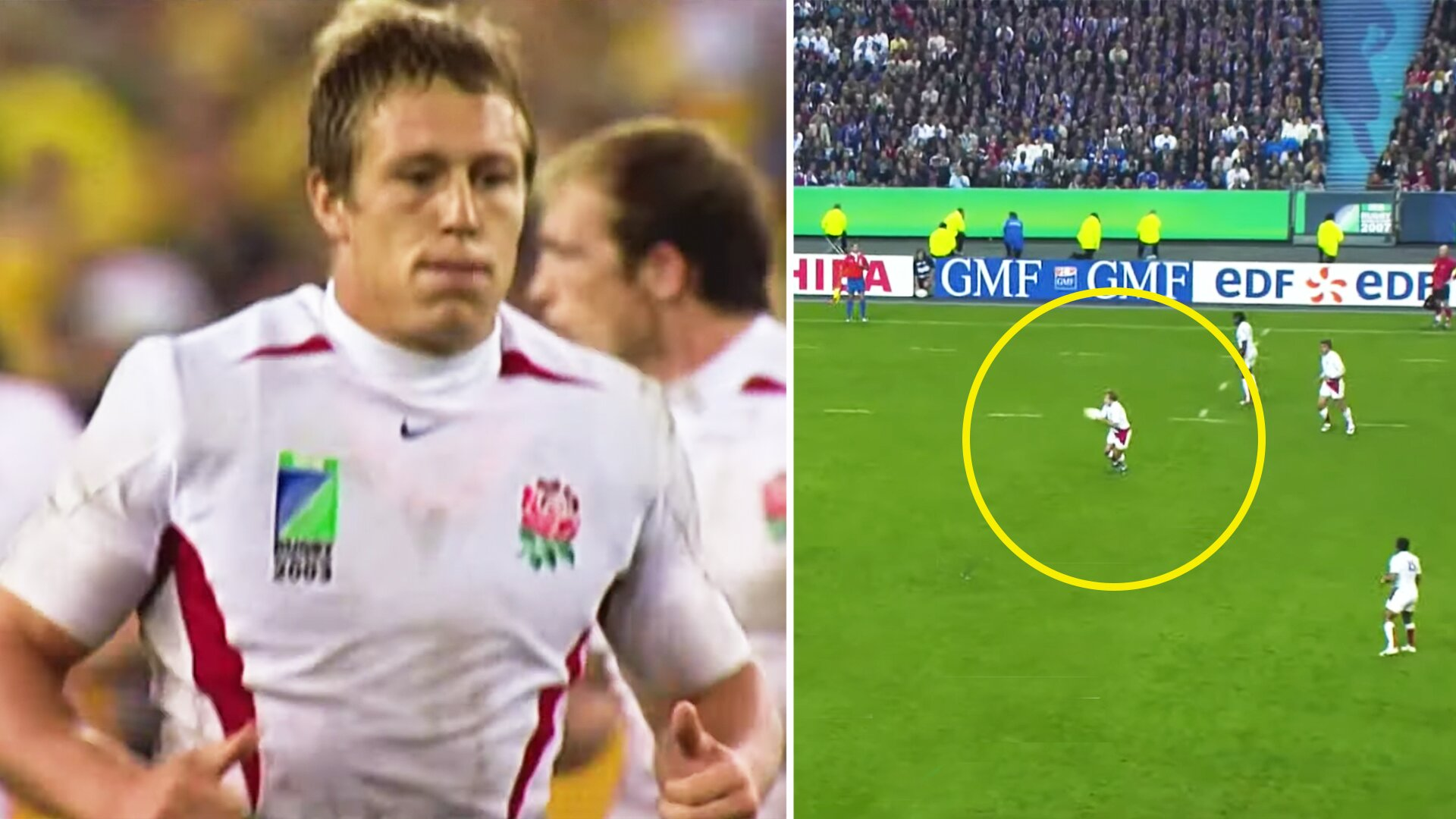 New video shows every one of Jonny Wilkinson's Rugby World Cup drop goals