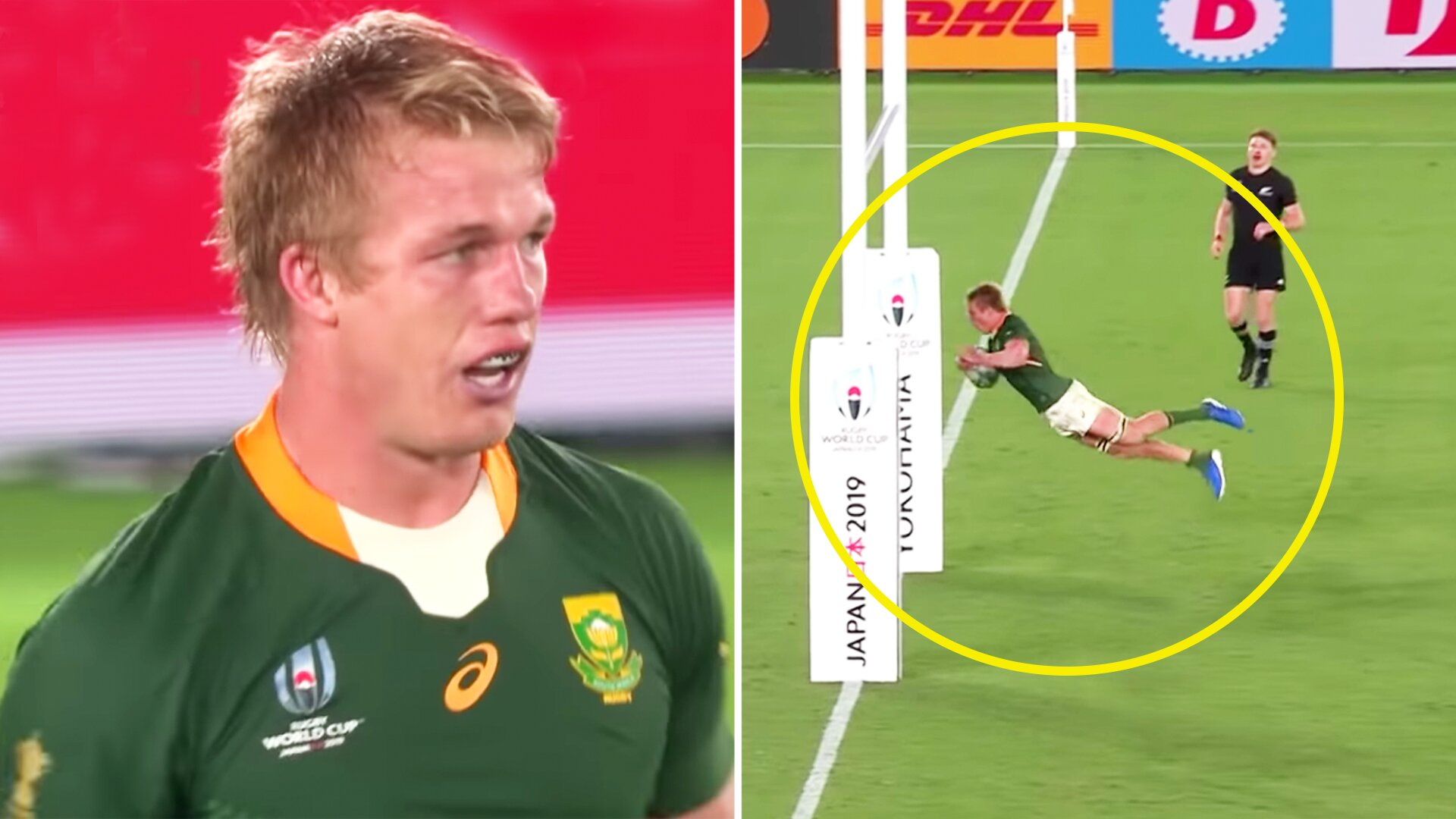 World Rugby release full match in which Pieter-Steph du Toit earned his World Player of the Year title