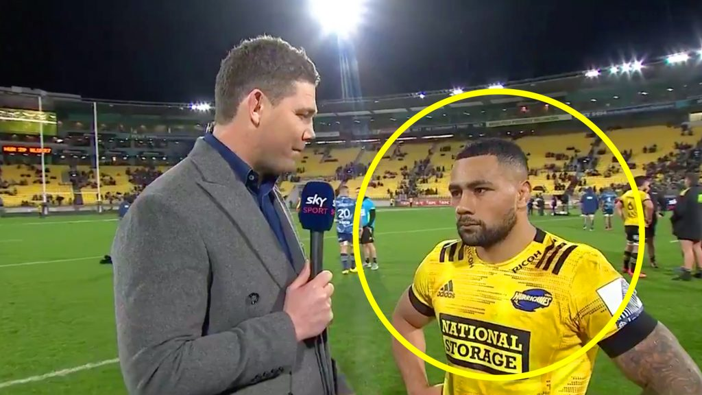 The awkward man of the match interview which tells you why Ngani Laumape will still thrive for the All Blacks