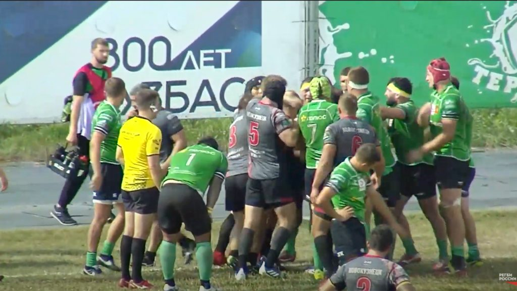 Live rugby is happening RIGHT NOW in Russia and it is absolutely insane