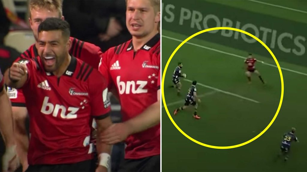 The moment Richie Mo'unga convinced everyone that he is the best fly half in the World