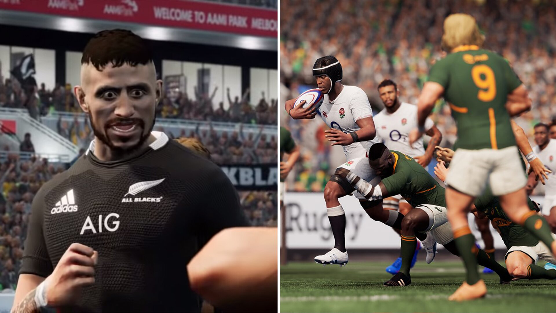 An honest review of the brand new rugby game that has just been released today