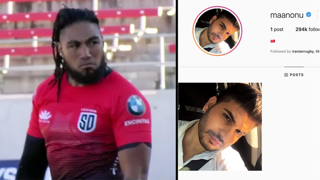 People online are confused as Ma'a Nonu is hacked on social media