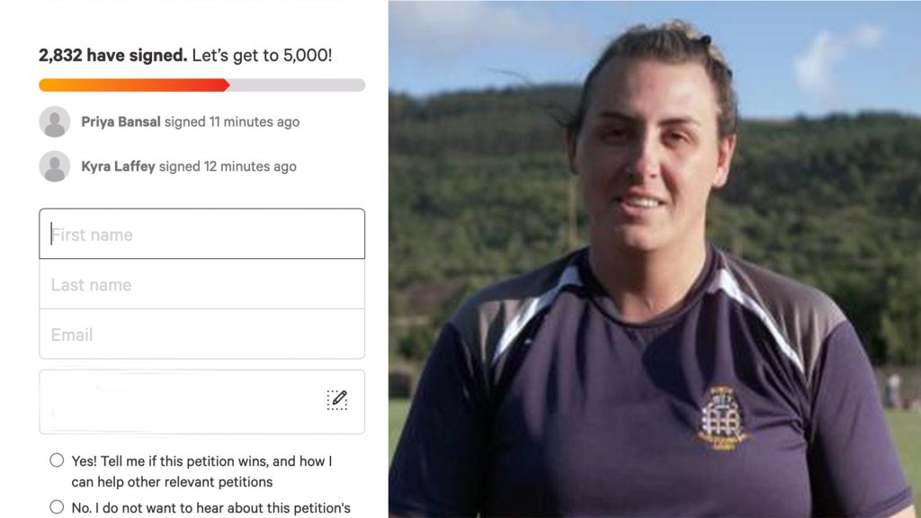Petition for Trans Women to keep playing women's rugby gathers steam - calls out World Rugby scientist for being transphobic