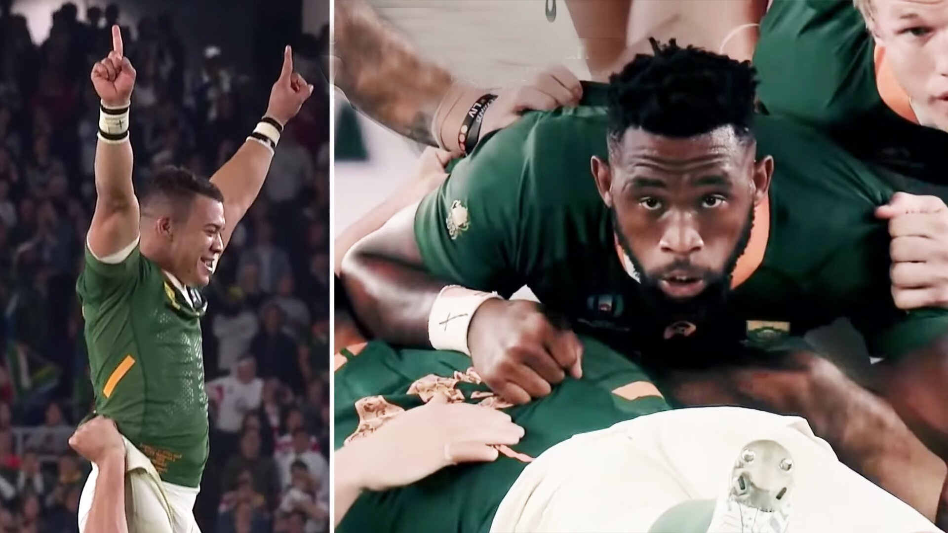 Powerful new video shows South Africa's incredible journey of redemption to win the Rugby World Cup
