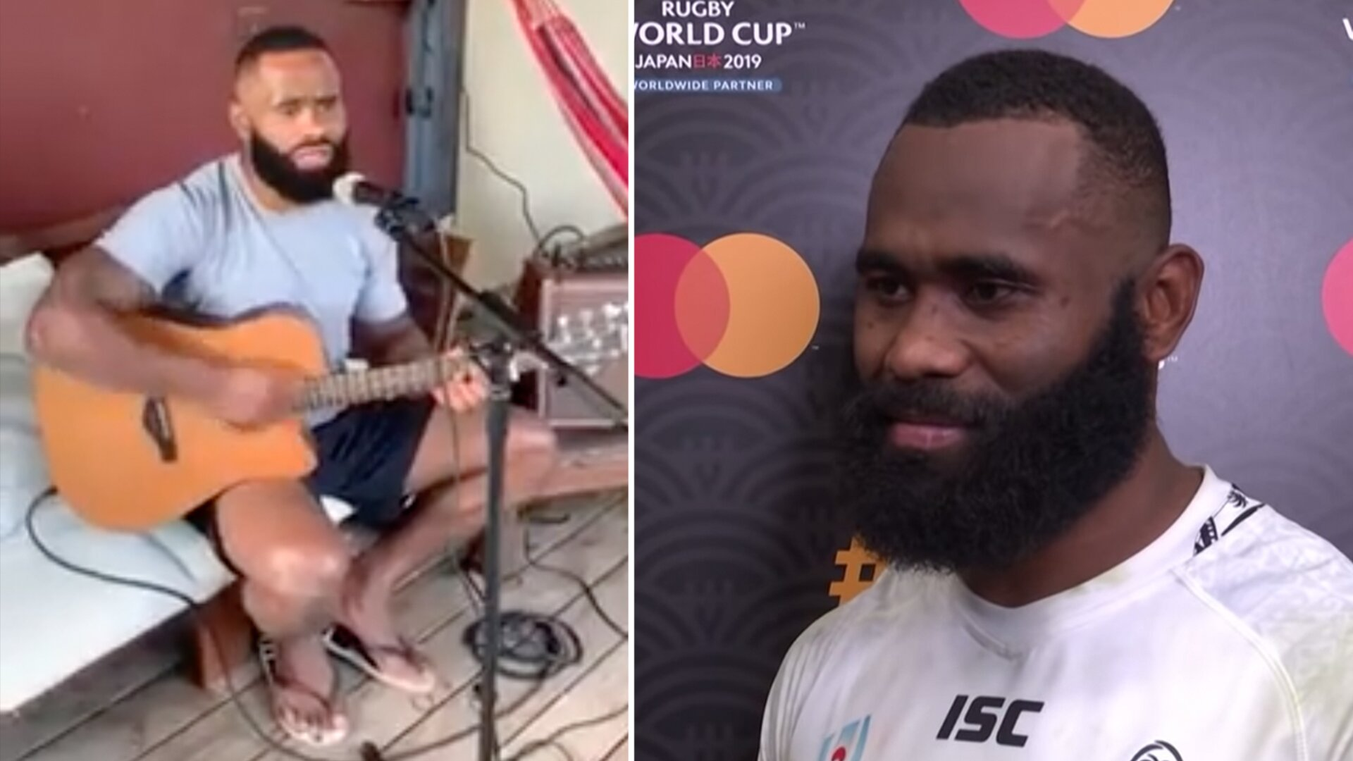 Rugby star Semi Radradra has an unbelievable talent that nobody knows about