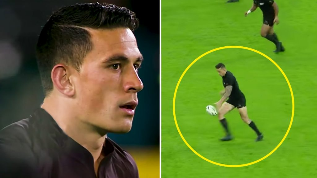 No one talks about this Sonny Bill Williams performance that saved the All Blacks World Cup campaign