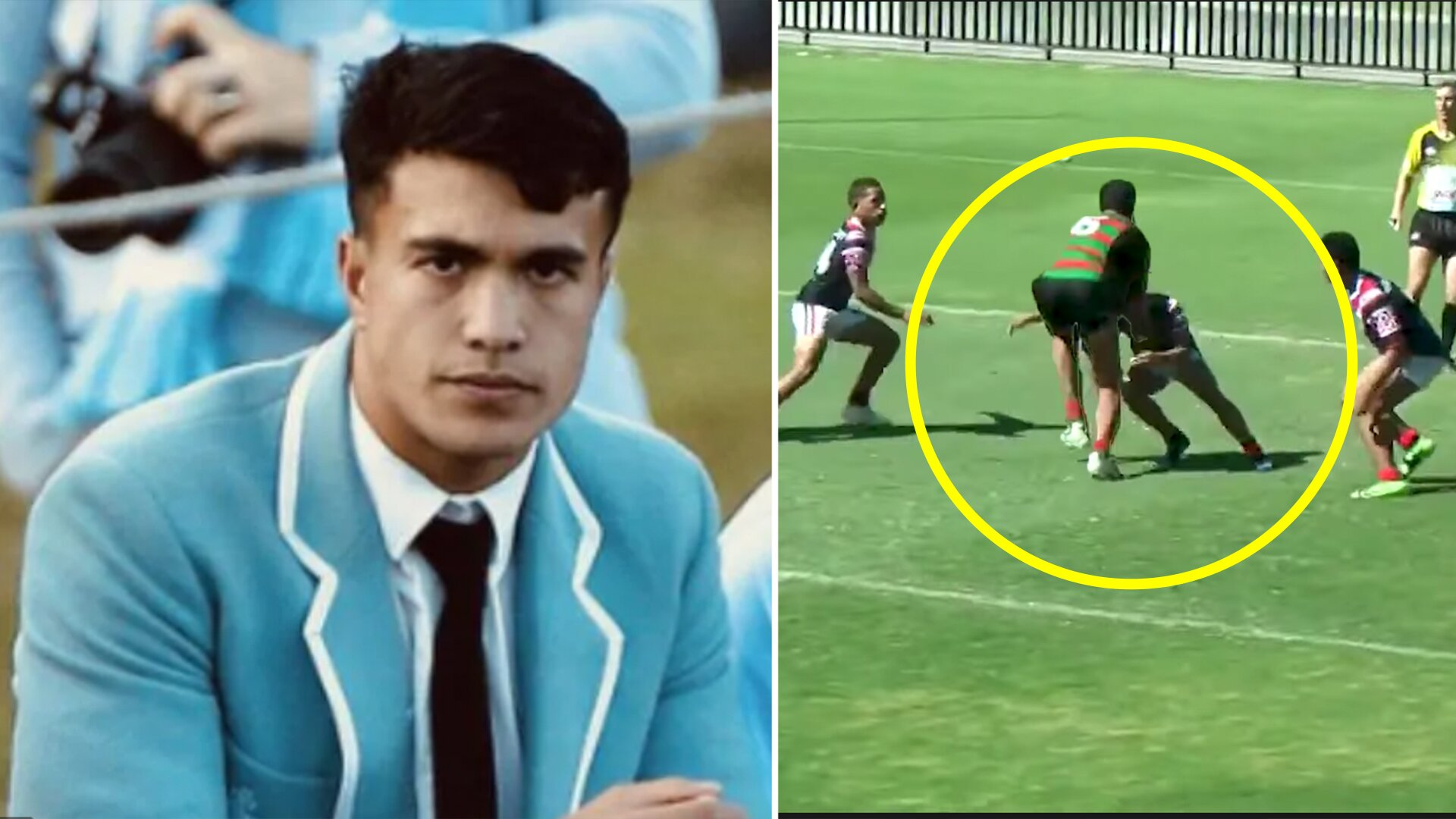 The first full highlight reel has dropped on the 'freak of nature' rugby wonderkid Joseph Suaalii