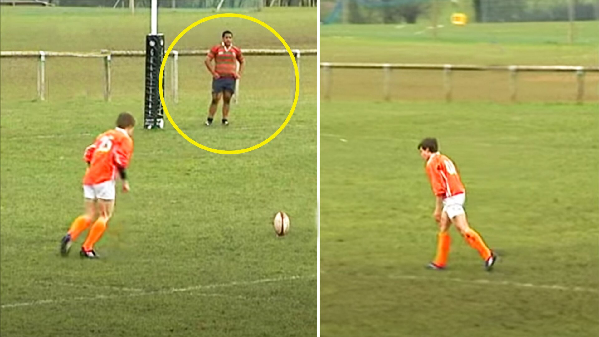 Unseen video shows teenage Farrell, Ford and Mako Vunipola utterly dominating age grade rugby