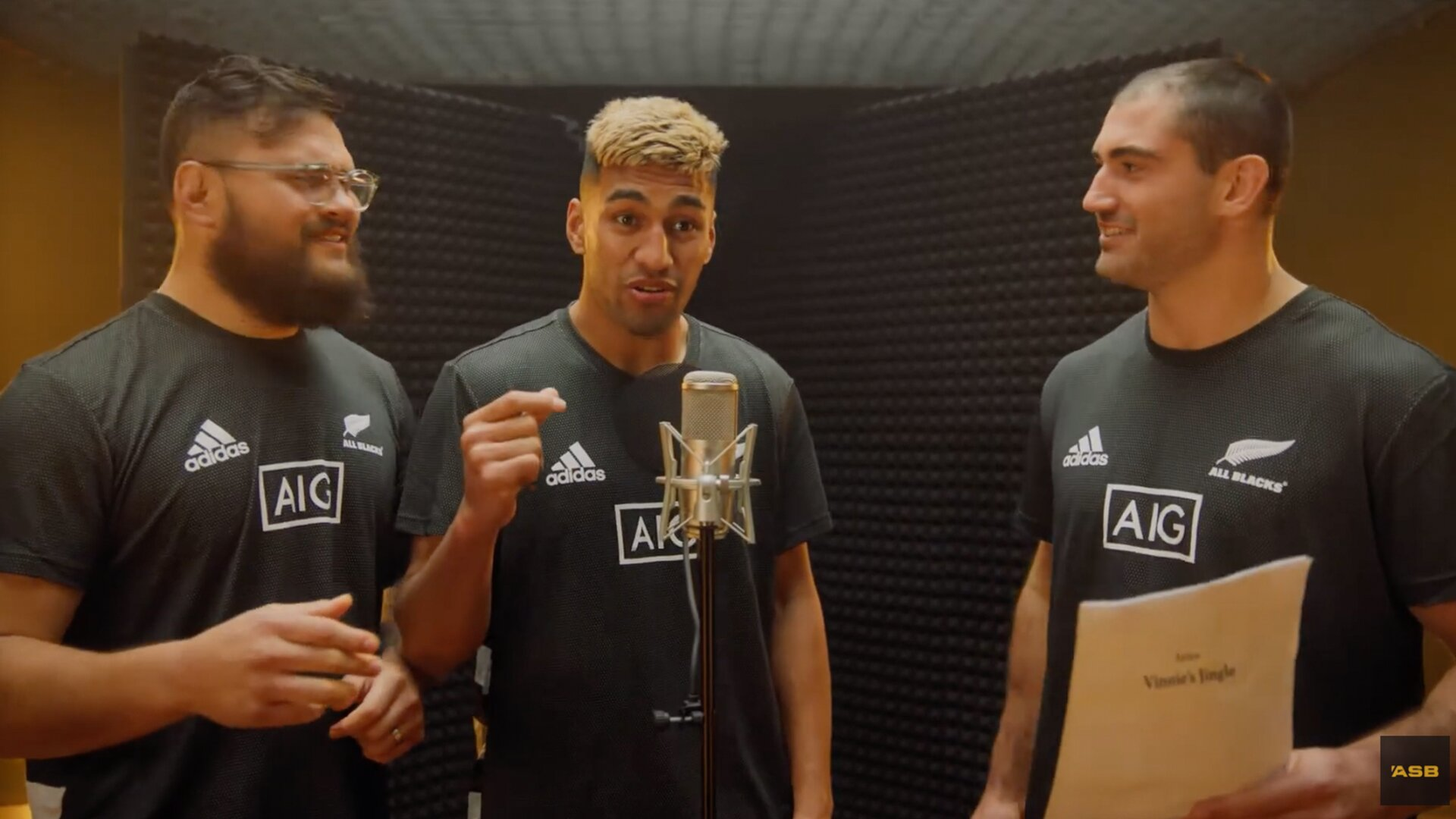 The All Blacks have just dropped one of the strangest TV ads ever
