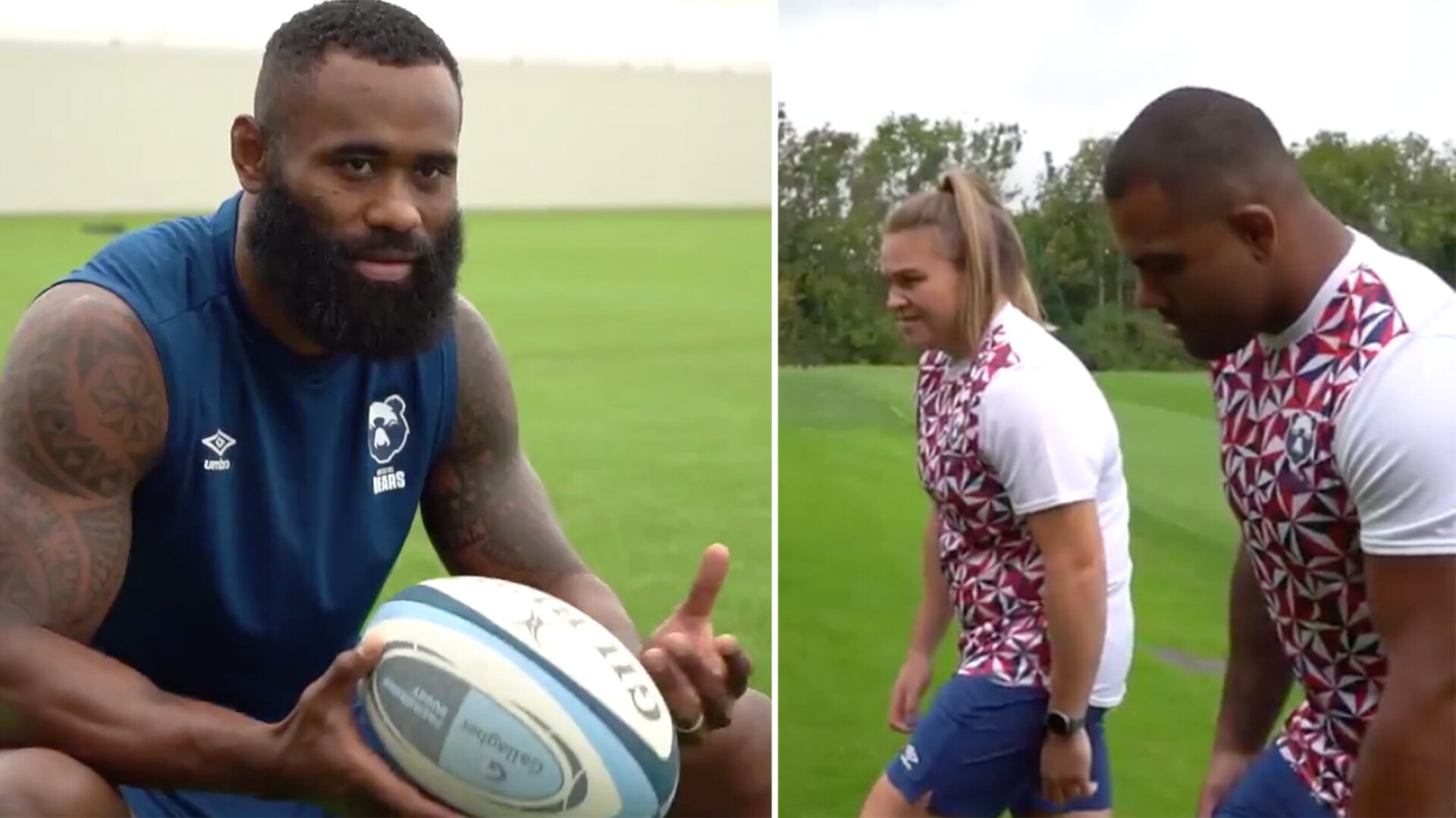 Bristol Bears have just given us a hint of what Umbro will do with the England rugby kit
