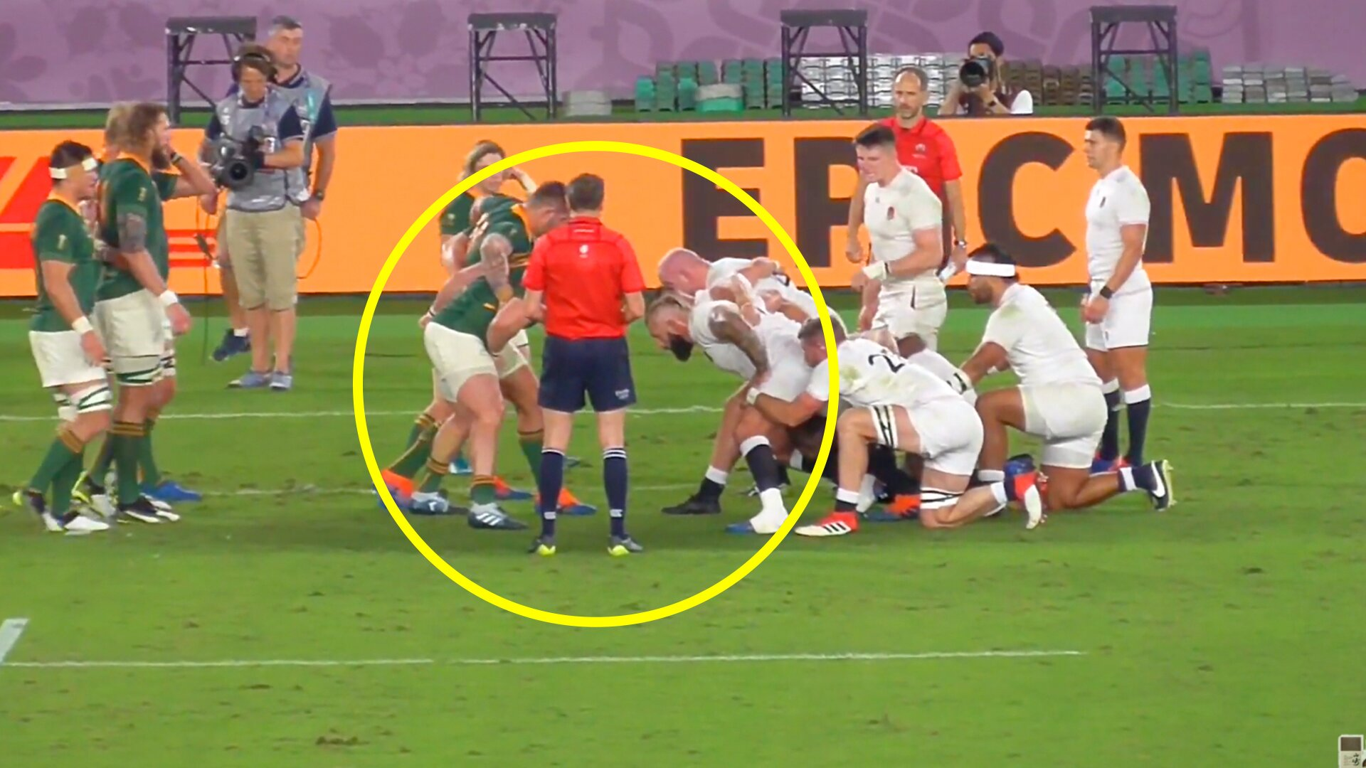 Mounting calls for South Africa to be stripped of World Cup win after undeniable evidence emerges showing officials helping Springboks - Rugby OnSlaug