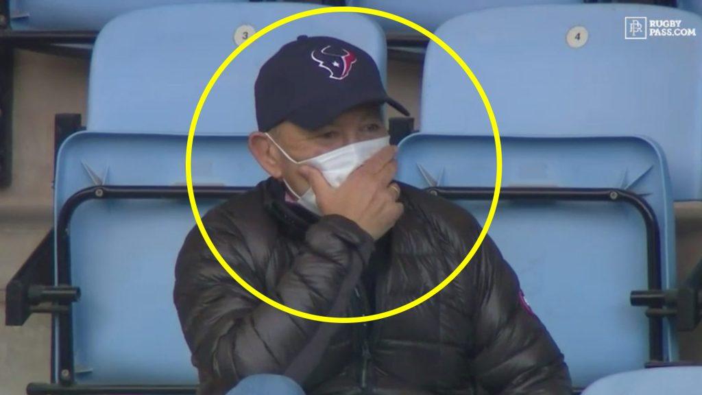 The incredible reason behind Eddie Jones and the hat that he wears on TV